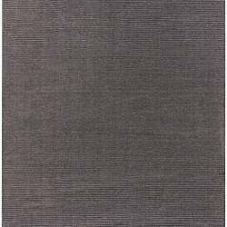 Hand-crafted Solid Brown Casual Lyan Wool Rug (8' x 11') - Thumbnail 1