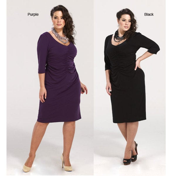 1f3768c81d8 Shop Kiyonna Clothing Women s Plus Size  Heartbreaker  Dress - Free  Shipping Today - Overstock - 4718842