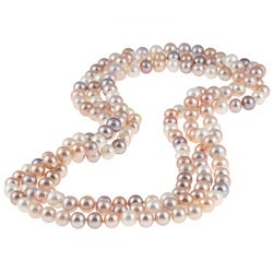 DaVonna Round Mulit Pink FW Pearl 72-inch Endless Necklace (9-10 mm)|https://ak1.ostkcdn.com/images/products/4718939/DaVonna-Round-Mulit-Pink-FW-Pearl-72-inch-Endless-Necklace-9-10-mm-P12630684c.jpg?_ostk_perf_=percv&impolicy=medium