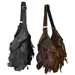 Amerileather Noah Leather Shoulder Eco-bag