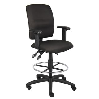 Boss MultiFunction Drafting Stool with Adjustable Arms Free