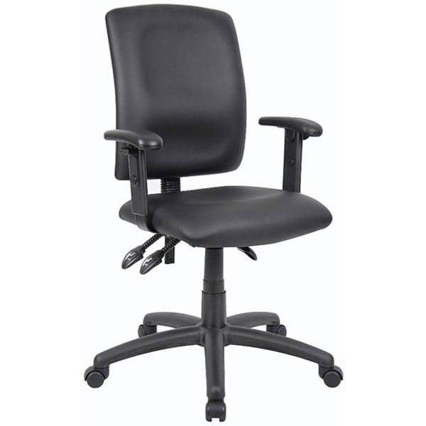 Boss Multifunction LeatherPlus Task Chair