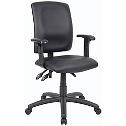 Boss Multifunction LeatherPlus Task Chair