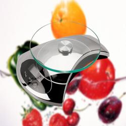 Weighmax Chrome Digital Food Scale - Thumbnail 1