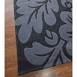 Nuloom Hand Tufted Pino Floral Grey Rug 5 X 8 Free