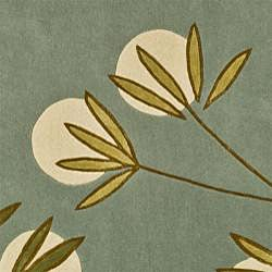 Safavieh Handmade Soho Blue New Zealand Wool Rug (5' x 8') - Thumbnail 1
