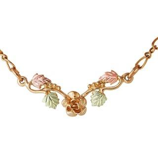 Black hills gold necklaces for less overstock black hills gold rose pendant aloadofball Choice Image