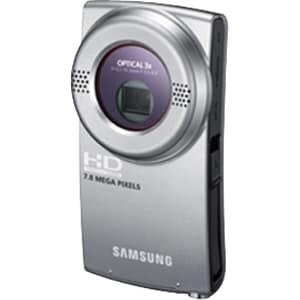 """Samsung HMX-U20 Digital Camcorder - 2"""" LCD - CMOS - Silver"""