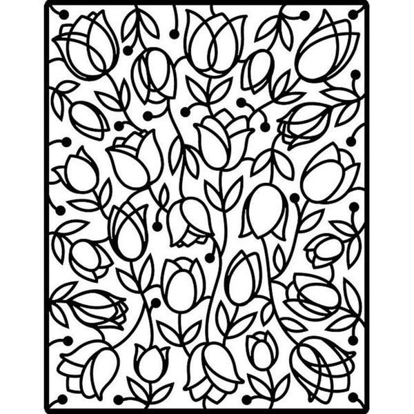 Spellbinders Impressabilities 'Tulips' Die