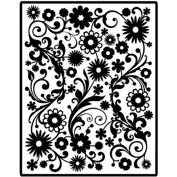 Spellbinders Impressabilities Flowers Die Cut