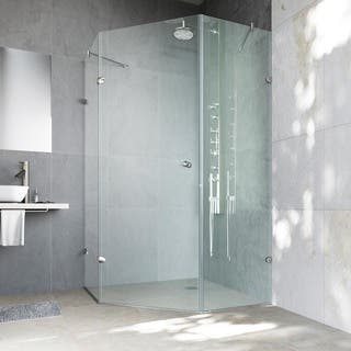 Neo-Angle Shower Doors For Less   Overstock.com