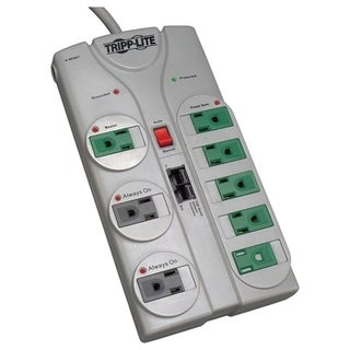 Tripp Lite Eco Surge Protector Green 120V 8 Outlet RJ45 8' Cord 2160