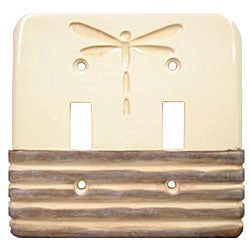 Dragonflies Double Switch Plates (Set of 6)