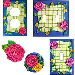 Flower Bunch 24-piece Hardware Set