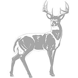 Sudden Shadows Deer Wall Decal