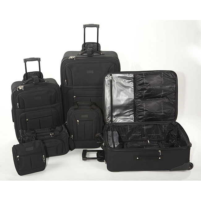 Geoffrey Beene Ebony 6-piece Luggage Set