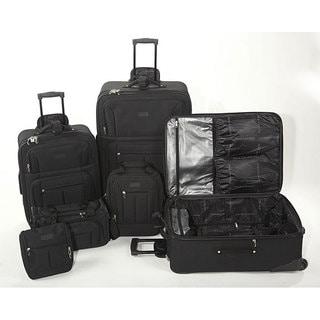 Geoffrey Beene Ebony 6-piece Luggage Set