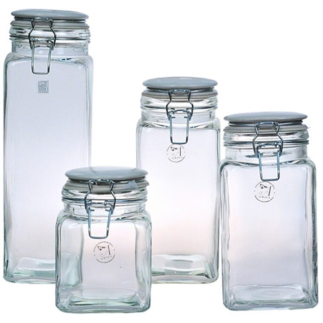 Global Amici 'Cresta' Storage Jars (Set of 4)