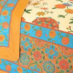 Sodhi Spring Multi 3-piece Duvet Set (India) - Thumbnail 1