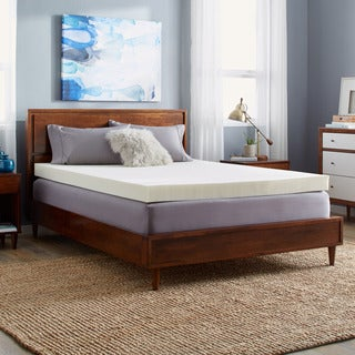 Slumber Solutions 4-inch Memory Foam Mattress Topper