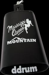 Corky Lang 'Mississippi Queen' Black Cowbell with White Print - Thumbnail 2
