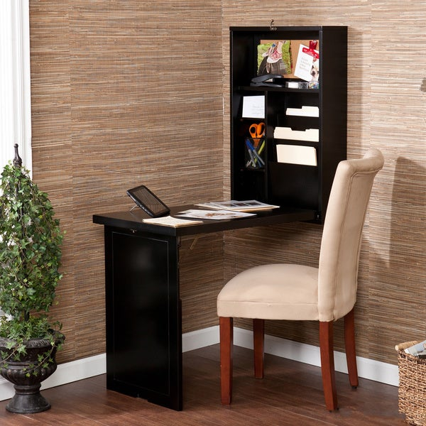 Harper Blvd Murphy Black Fold-out Convertible Desk