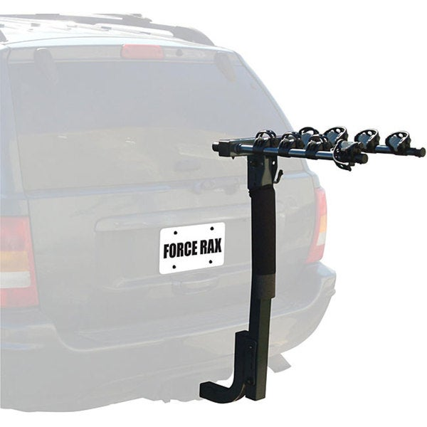 Force Rax Car 4-bike Hitch Rack