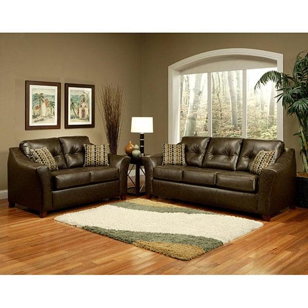 Shop Furniture Of America Classic Cosimo 2-piece Rich