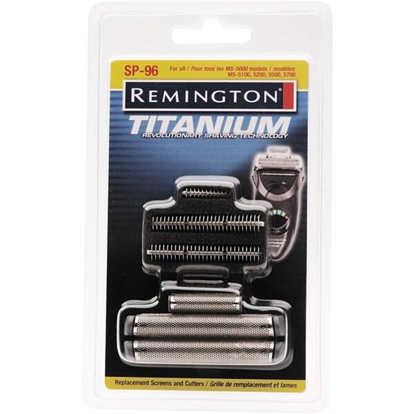 Remington Sp 96 Titanium Shaver Replacement Screens And