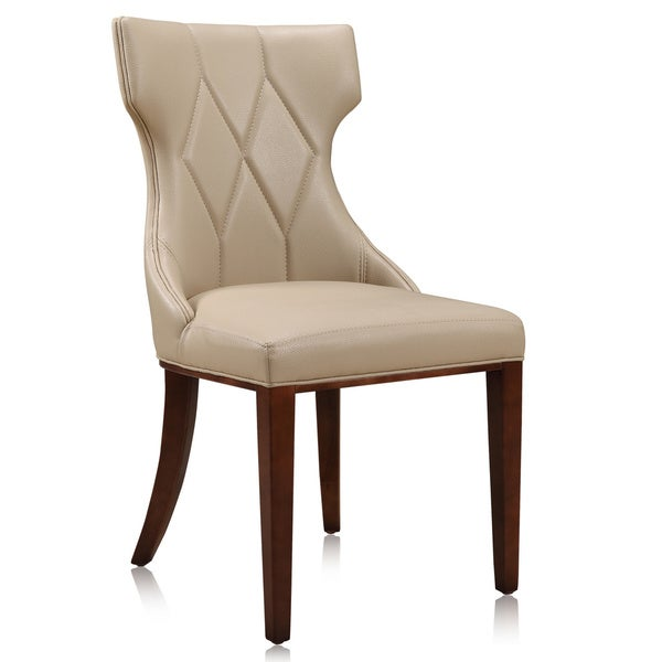 Reine Leatherette Dining Chairs (Set of 2). Opens flyout.