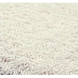 Safavieh Classic Plush Handmade White Shag Rug (6' Square)