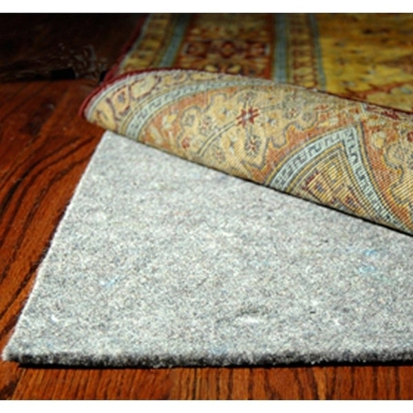 Safavieh Durable Hard Surface and Carpet Rug Pad - Grey - 6' Round