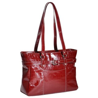 Siamod 'Serra' Women's Leather 15.4-inch Laptop Tote