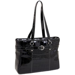 Siamod 'Serra' Women's Leather 15.4-inch Laptop Tote