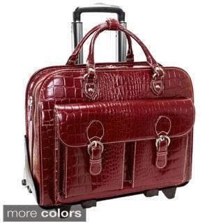 Siamod 'San Martino' Women's Leather Detachable Wheeled Laptop Case|https://ak1.ostkcdn.com/images/products/4737287/Siamod-San-Martino-Womens-Leather-Detachable-Wheeled-Laptop-Case-P12645460a.jpg?impolicy=medium