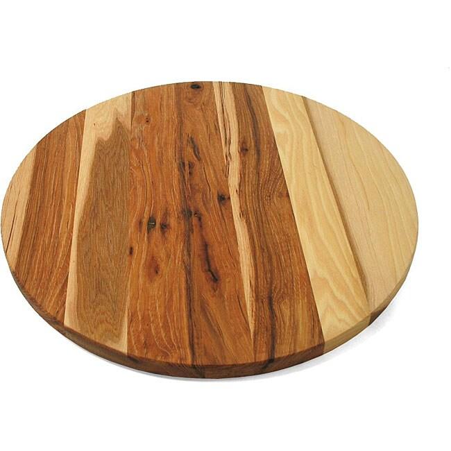 J.K. Adams Hickory Wood 16-inch Lazy Susan
