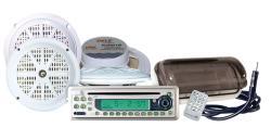 Pyle KTMR11SP Waterproof Marine 4-speaker CD/MP3 Stereo