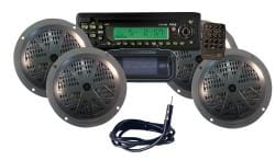 Pyle KTMR14SP Waterproof Marine 4-speaker CD/MP3 Player Stereo System - Thumbnail 1