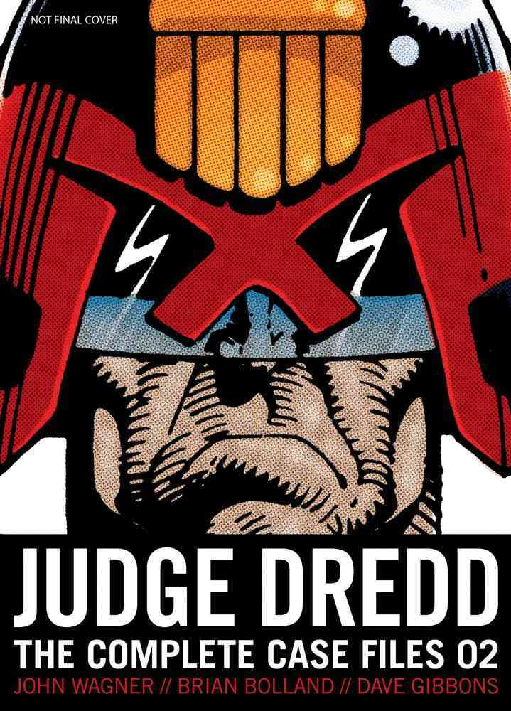 Judge Dredd 2: The Complete Case Files (Paperback) - Thumbnail 0