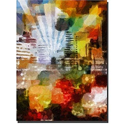 Adam Kadmos 'City Paint' Gallery-wrapped Canvas Art