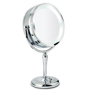 Danielle 1x-10x Chrome Revolving Lighted Mirror