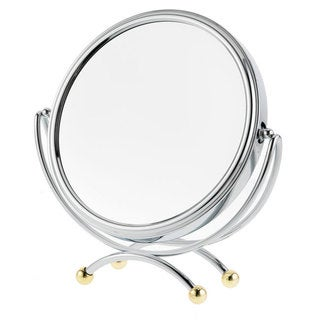 Danielle 1x-10x Two-tone Low Profile Vanity Mirror