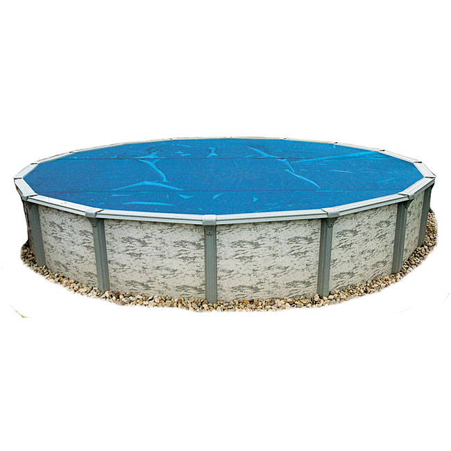 Blue Wave 24 Ft Round 8 Mil Solar Blanket For Above Ground Pools Blue Free Shipping Today