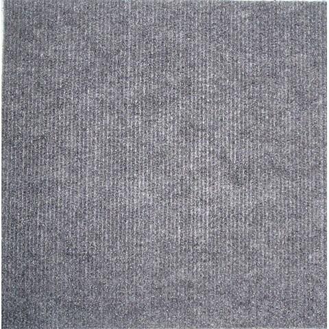 Square 12-inch Grey Carpet Tiles (240 Square Feet)