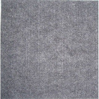Square 12-inch Grey Carpet Tiles (240 SF)