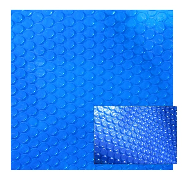 8-mil Solar Blanket for Oval 18-ft x 33-ft Above-Ground Pools – Blue
