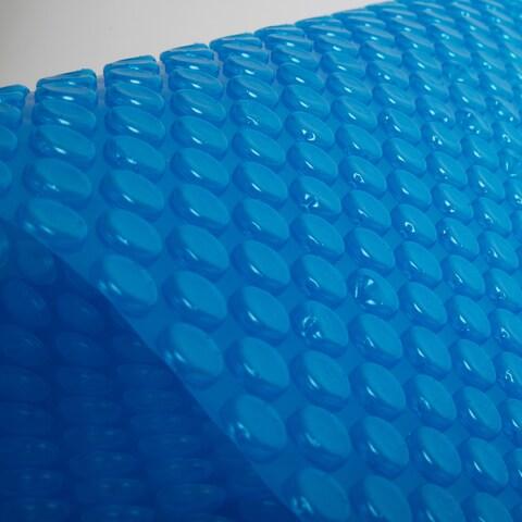 Blue Wave 12-mil Solar Blanket for Rectangular 16-ft x 24-ft In-Ground Pools  Blue