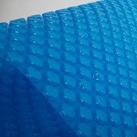 Blue Wave 12-mil Solar Blanket for Rectangular 18-ft x 36-ft  In-Ground Pools – Blue