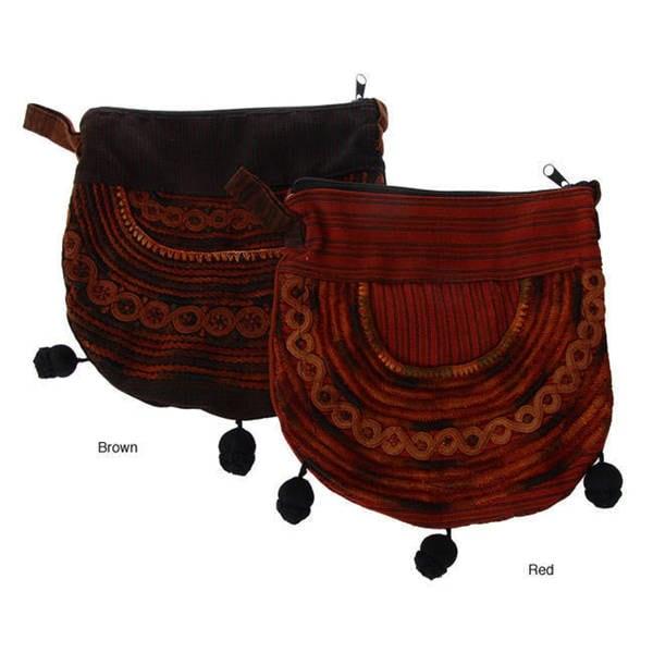 Handmade Embroidered Shoulder Bag (Guatemala)