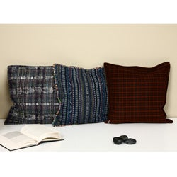 Handmade Embroidered Patchwork Pillow Cover (Guatemala) - Thumbnail 1